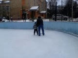 второй раз на коньках
